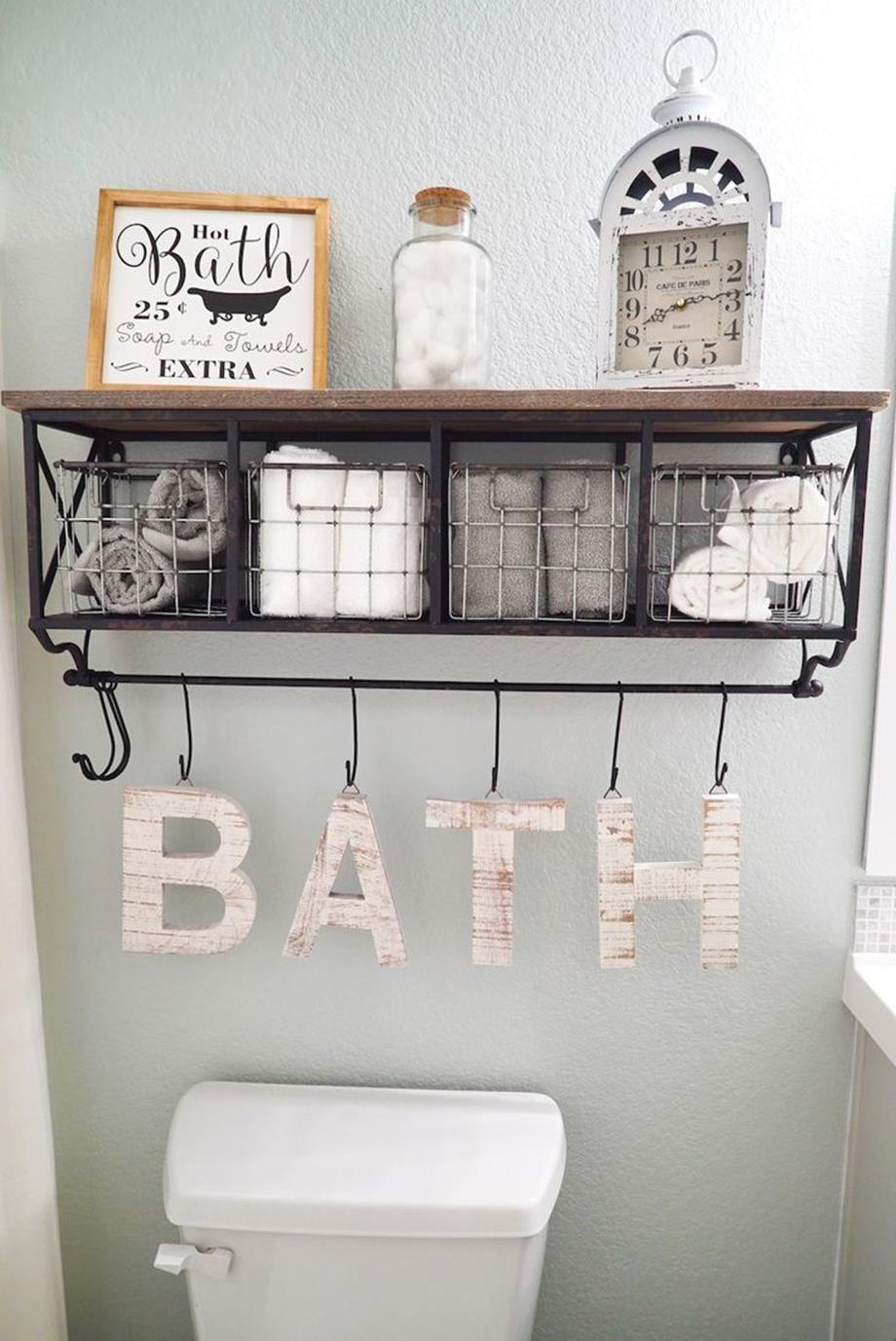 43 Simple But Beautiful Bathroom Wall Art And Decor ...