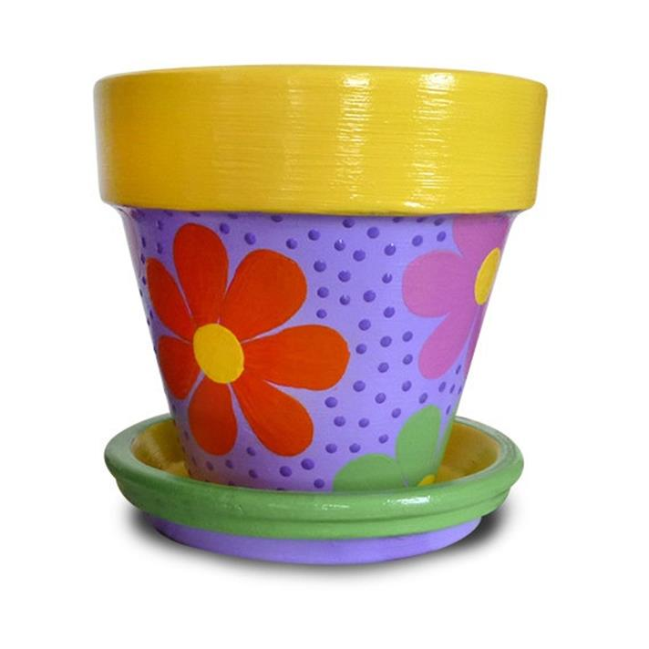 Diy easy flower pot painting ideas 5 decorelated for Diy flower pot designs