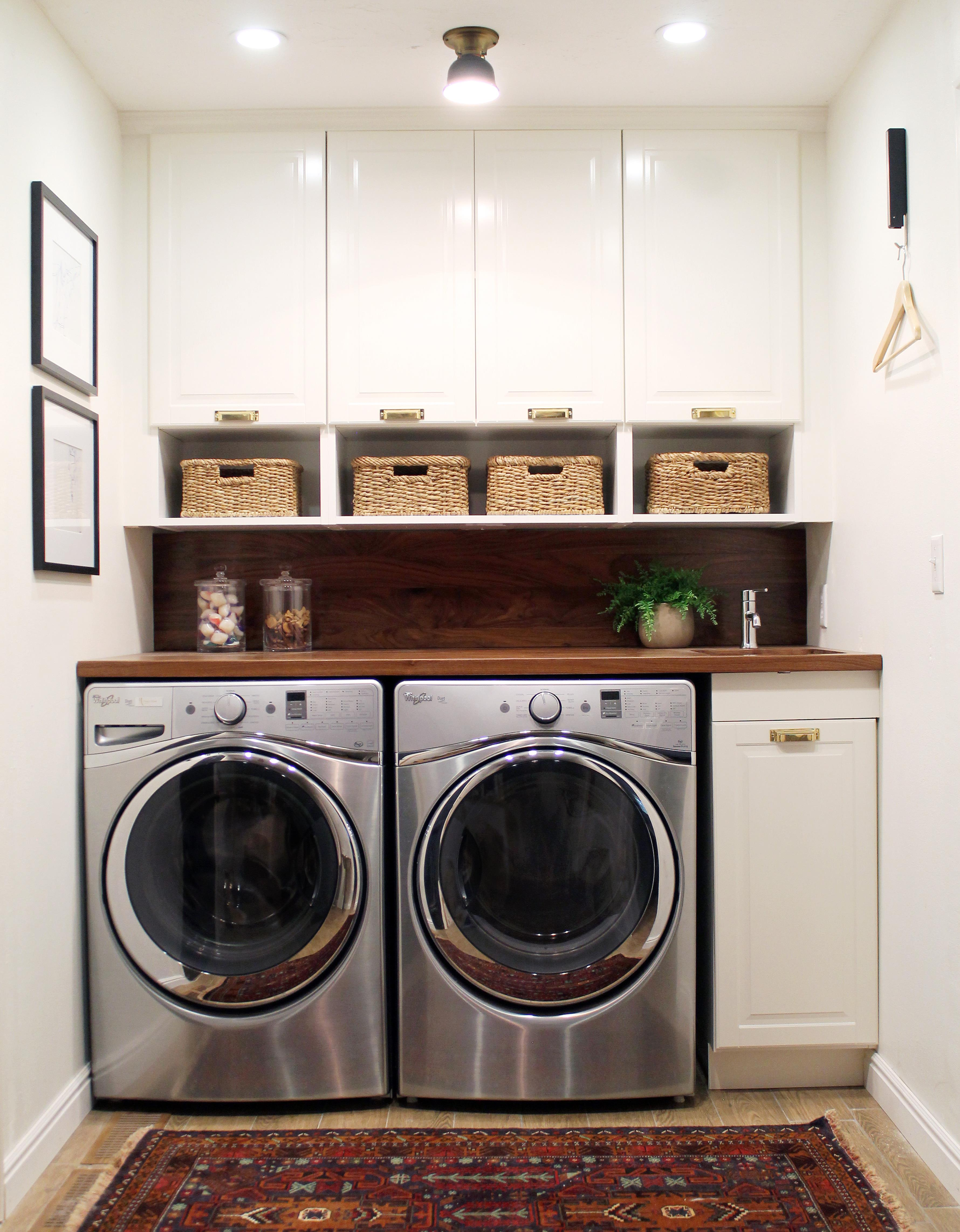 washer room renovation laundry combined door classy bathroom combo simple decorating and utility on home toilet design dryer ideas small in new kitchen house with under