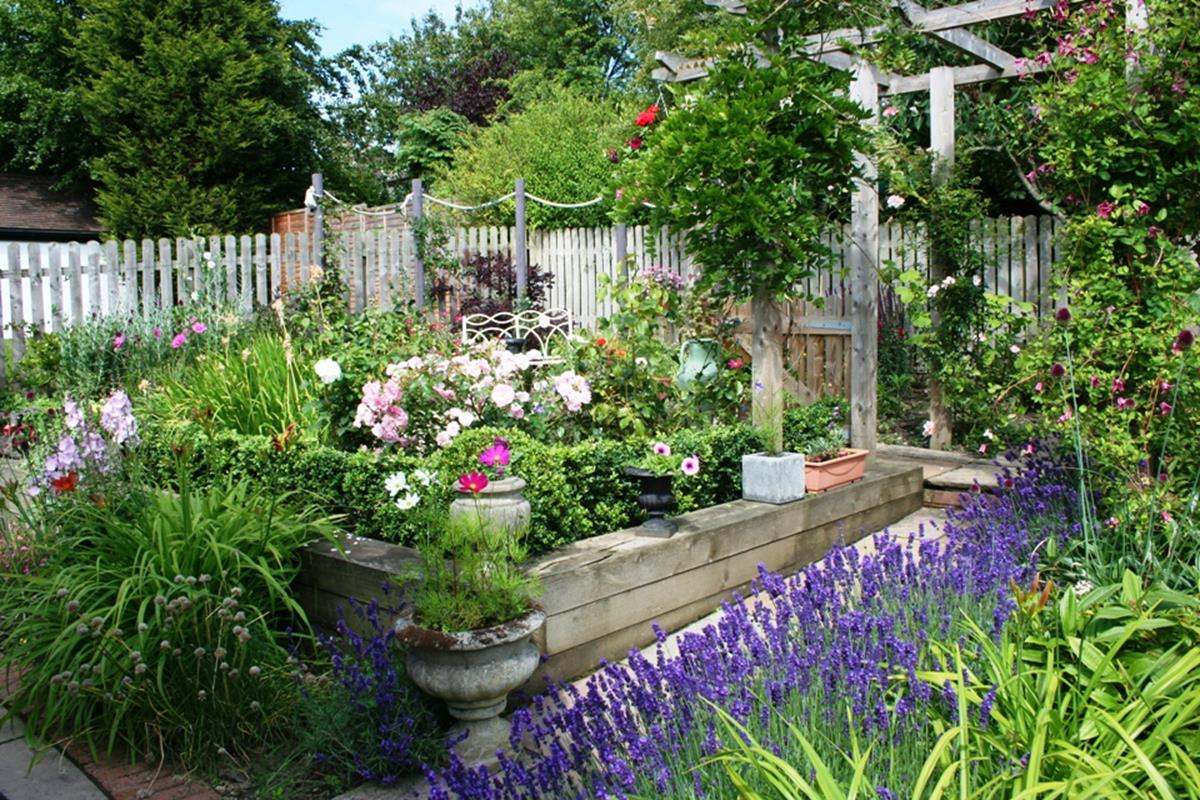 Beautiful Simple Garden Design Plans: 36 Best Plants For A Cottage Garden And Design Ideas