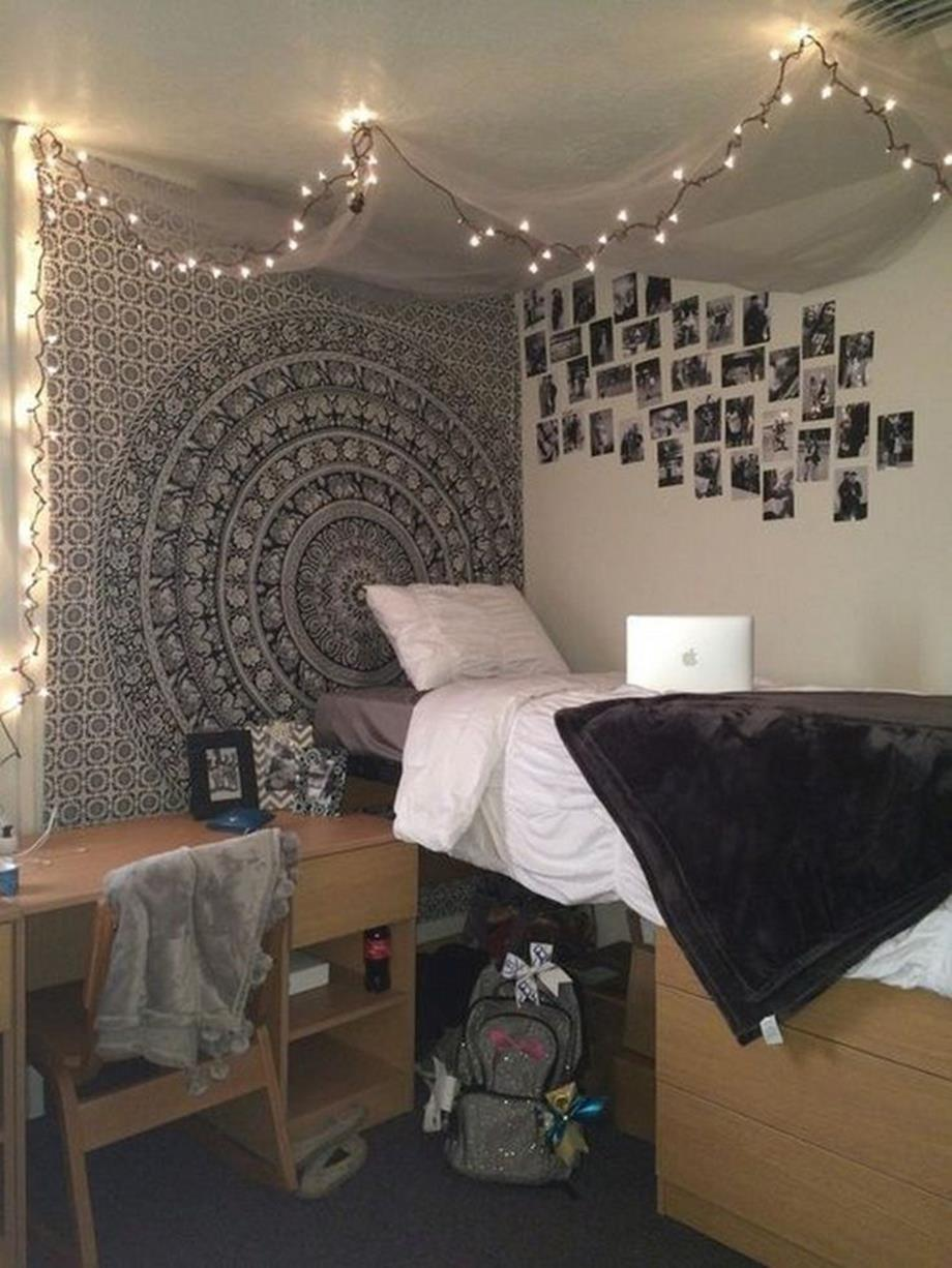 College dorm wall decor for girl 13 decorelated - Dorm room bedding ideas ...