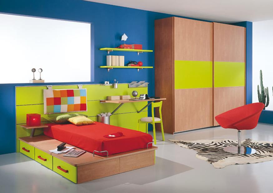 Color Full Kids Room Decorating Ideas On A Budget 31