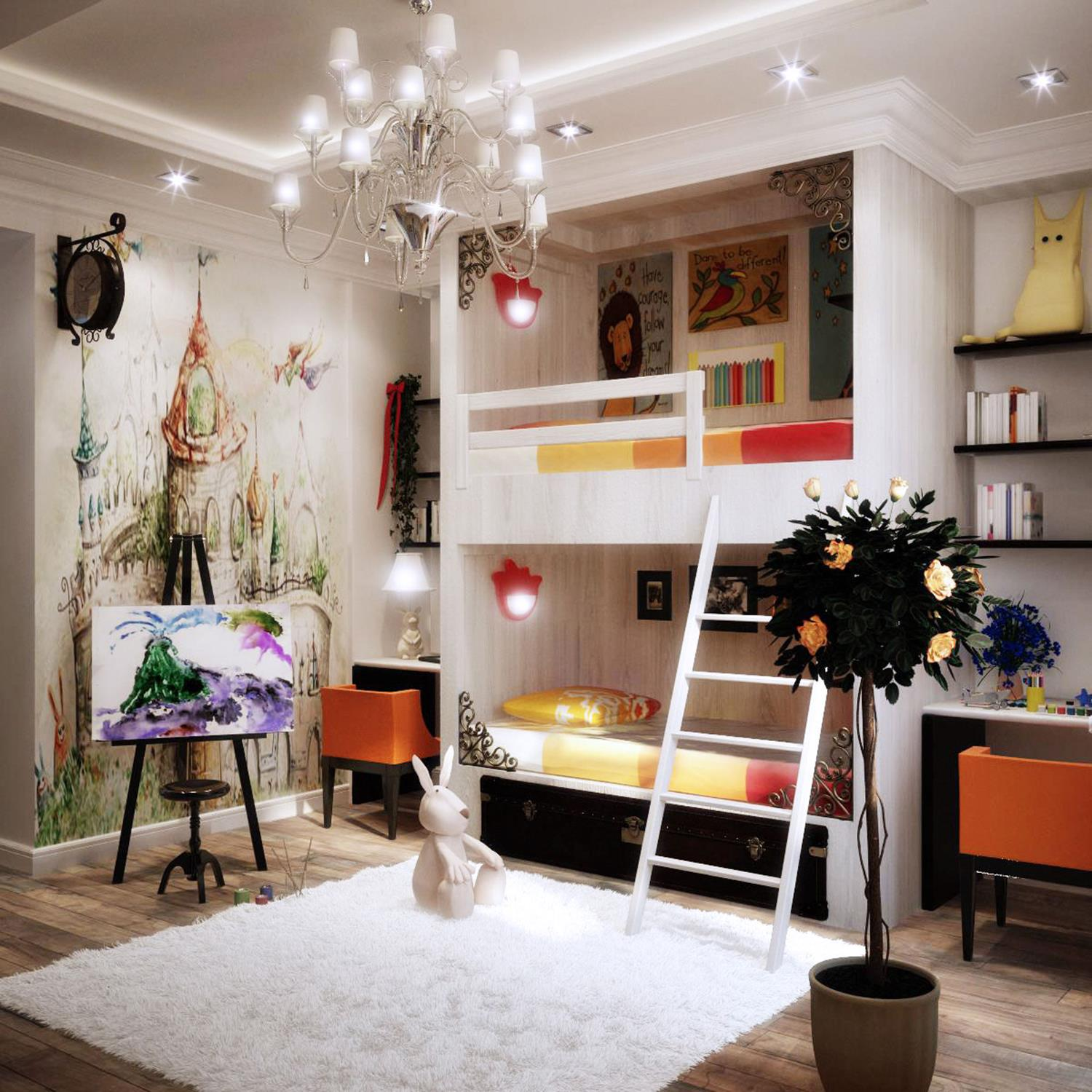 Color Full Kids Room Decorating Ideas On A Budget 36 Decorelated