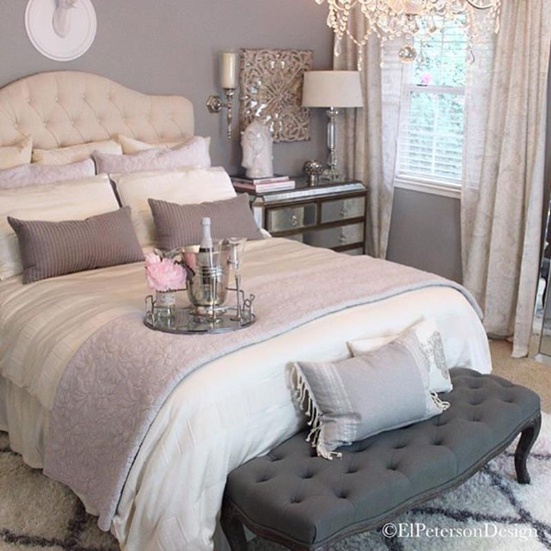Peaceful Bedroom Colors And Decorating Ideas: Cozy Romantic Relaxing Bedroom Color Ideas 4