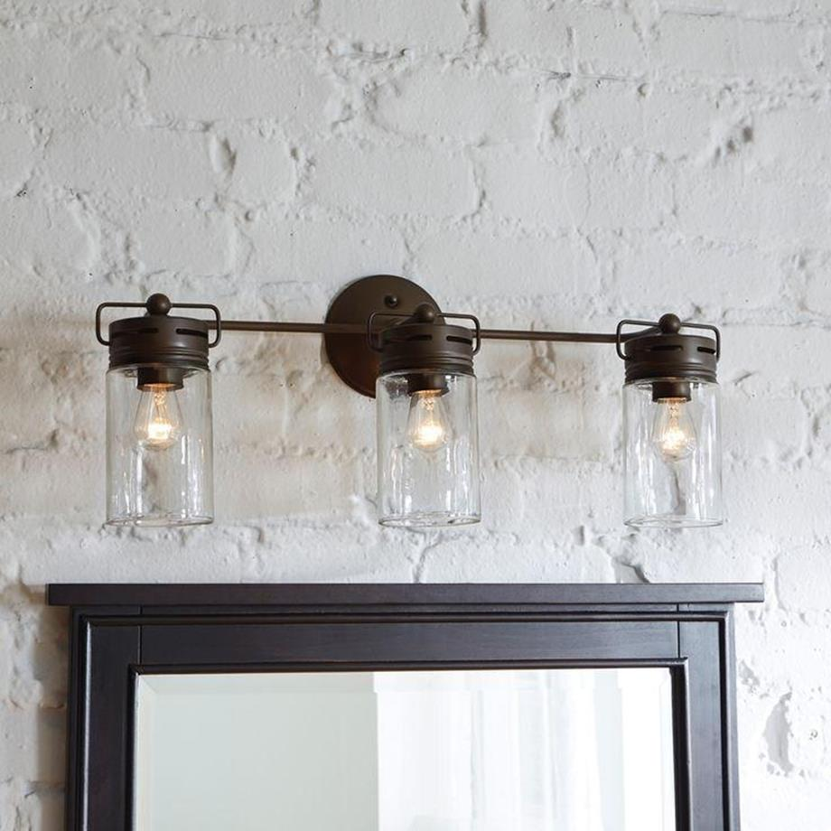 Farmhouse Bathroom Light Fixtures Ideas 15 Decorelated