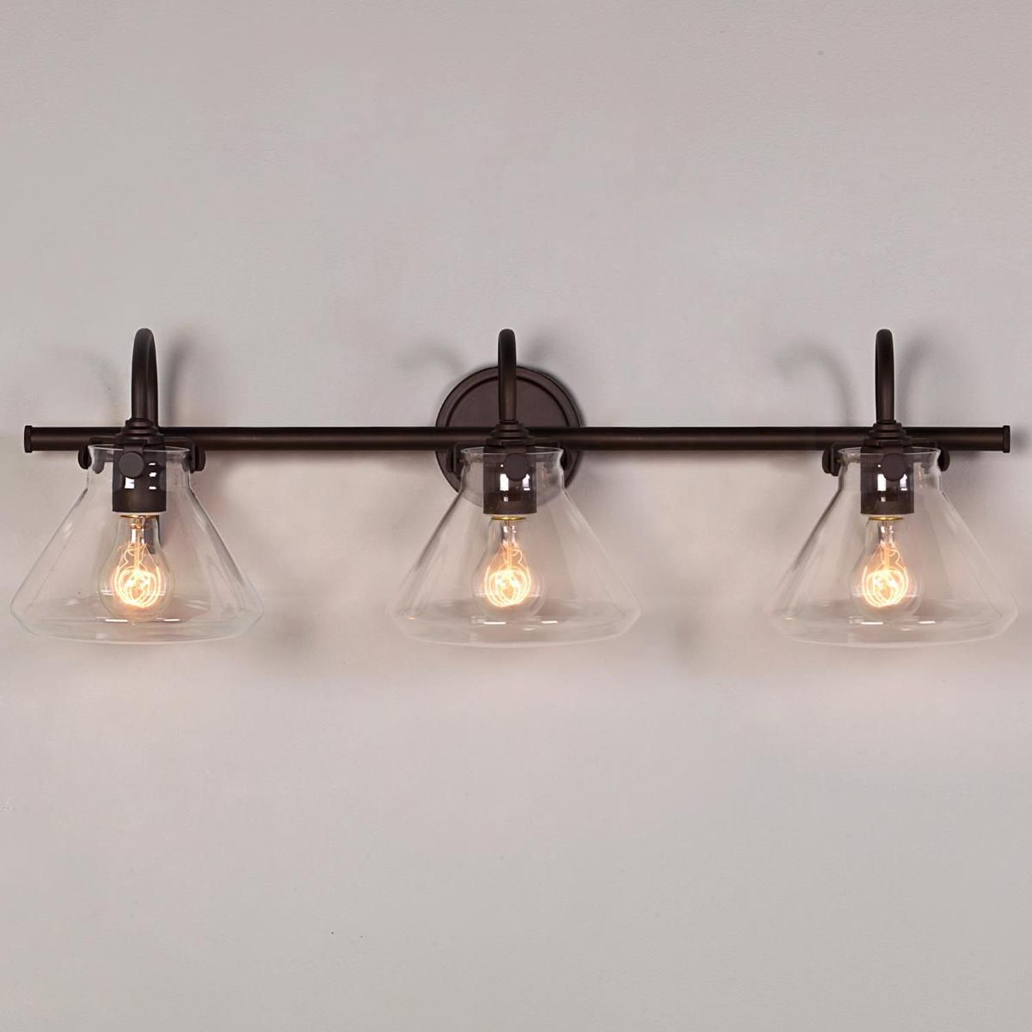 Farmhouse Bathroom Light Fixtures Ideas 3 - DecoRelated