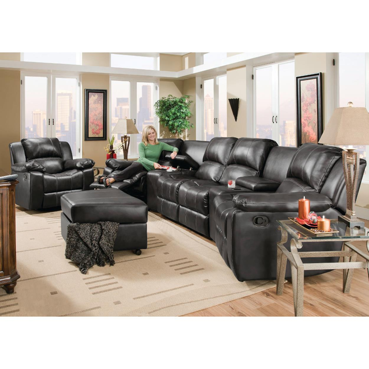 Living Room Theater Fau Phone Number: Home Theater Couch Living Room Furniture 12
