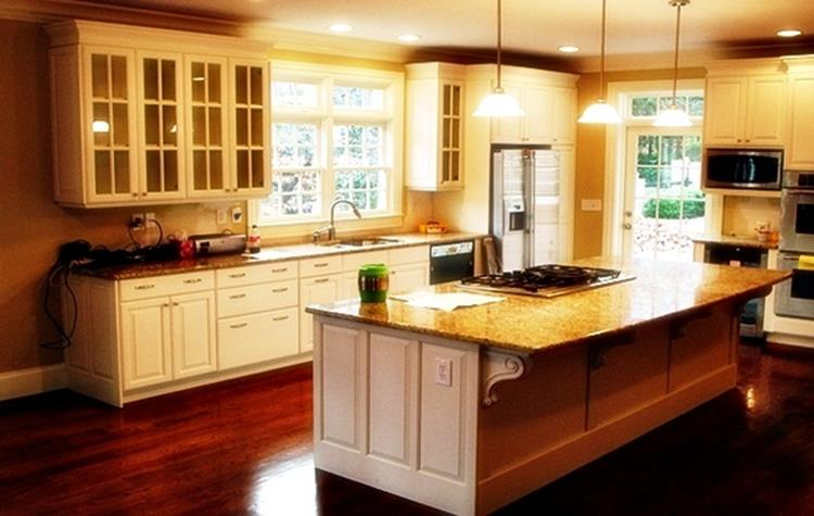 Kitchen Cabinets And Flooring Combinations 20 - DecoRelated