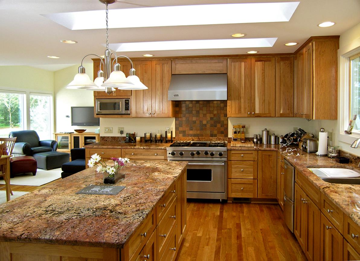 Kitchen Cabinets And Flooring Combinations 6 - DecoRelated