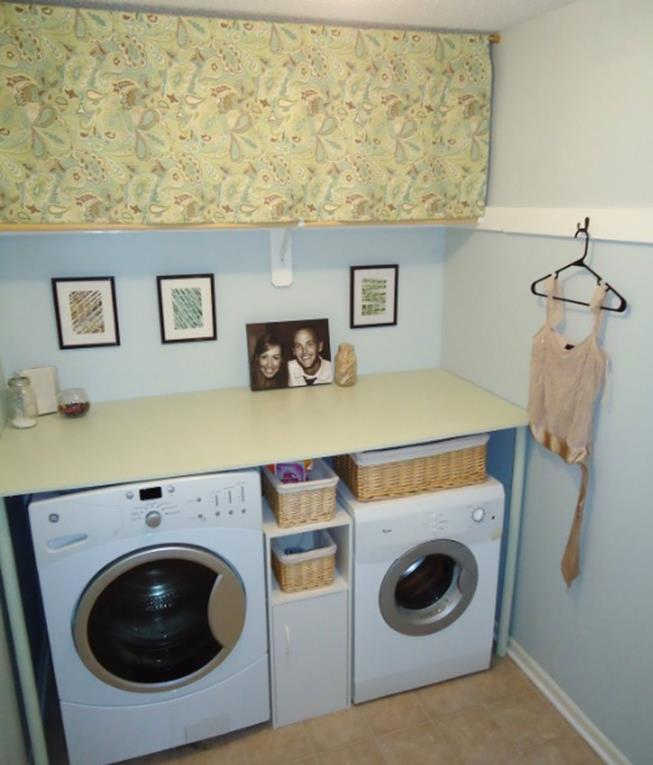 Laundry room accessories decorations ideas 33 decorelated for Laundry room decor accessories