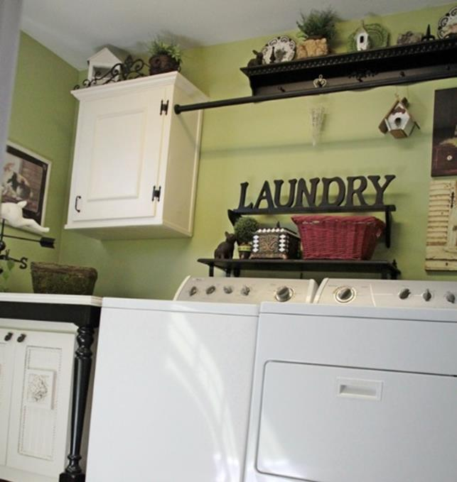 Laundry room decorating ideas wall art 31 decorelated - Laundry room wall ideas ...