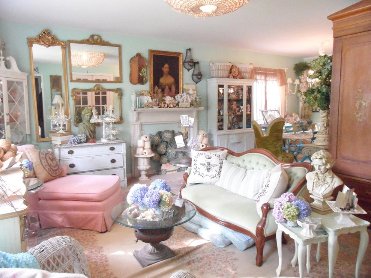 Shabby chic living room decorating on a budget 17 for Shabby chic living room ideas on a budget