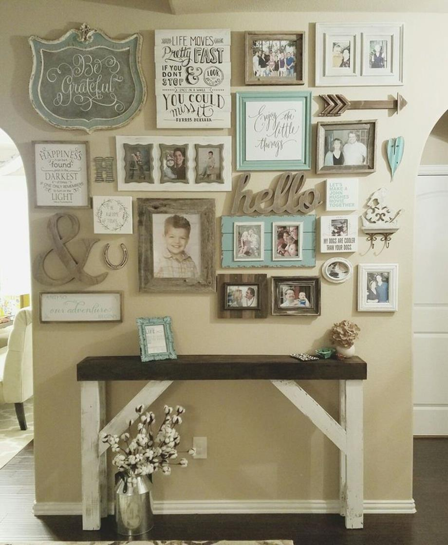 Shabby Chic Kitchen Design Ideas: Shabby Chic Kitchen Wall Decorating Ideas 11