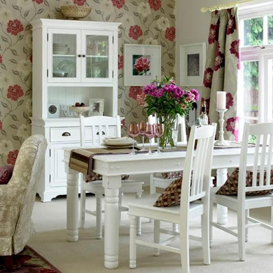 Shabby Chic Kitchen Wall Decorating Ideas 23