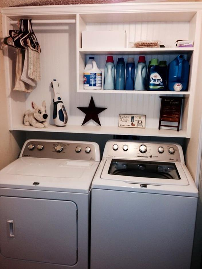 Diy Small Laundry Room Makeovers On A Budget 9 Decorelated