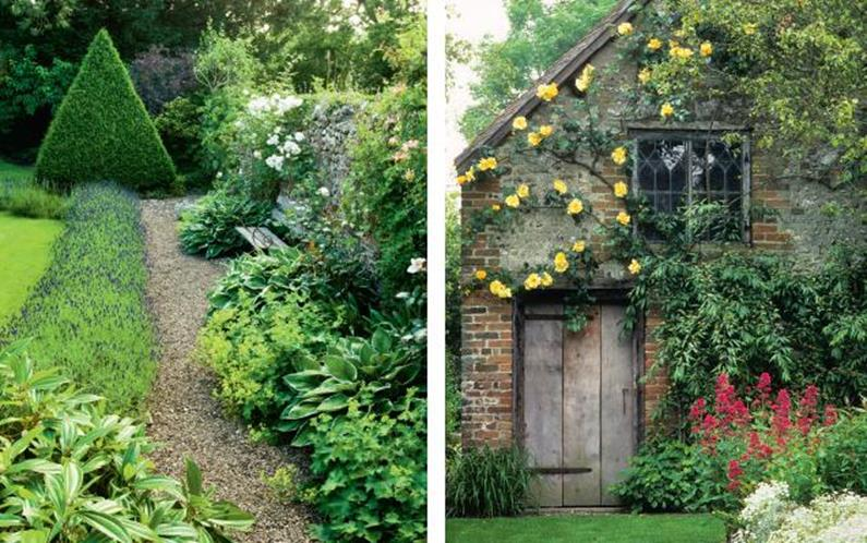 36 stunning country cottage gardens ideas decorelated for Garden designs plans