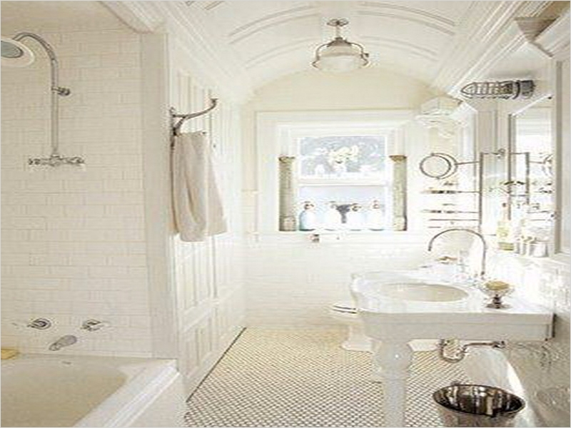 French Country Small Bathroom 16