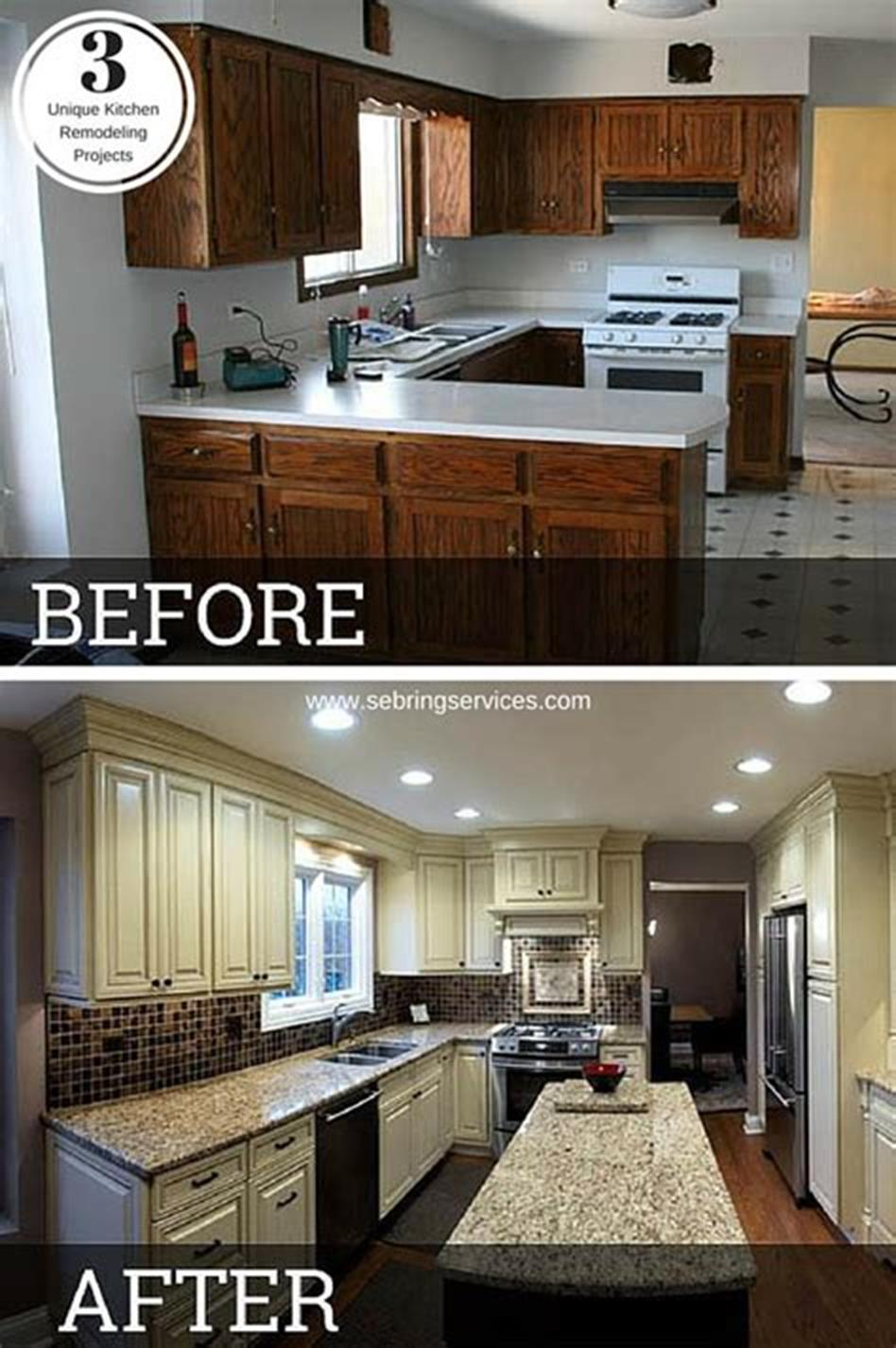 43 Extremely Creative Small Kitchen Design Ideas: 43 Amazing Kitchen Remodeling Ideas For Small Kitchens