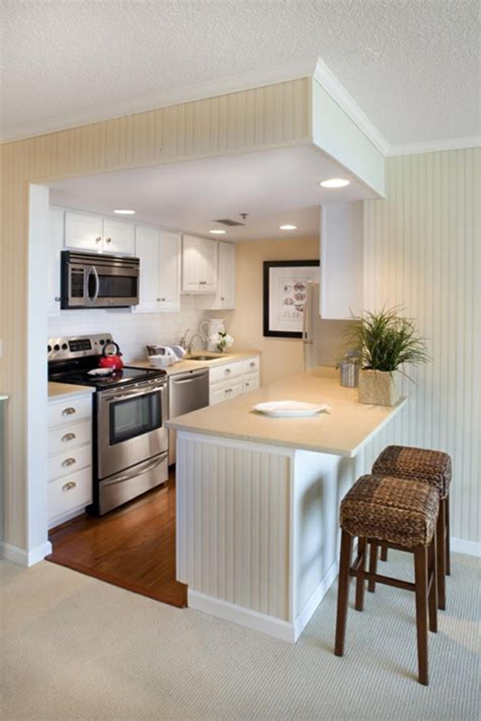 43 Amazing Kitchen Remodeling Ideas for Small Kitchens ...